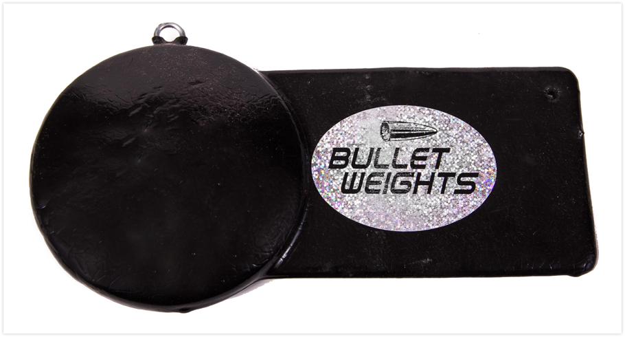 Pancake weight downrigger weights for Balls deep fishing weights