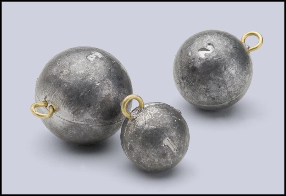 Cannonball sinkers fishing sinkers for Balls deep fishing sinkers